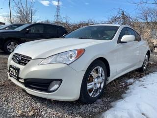 Used 2010 Hyundai Genesis Coupe 2.0T | MANUAL TRANS | LEATHER | ROOF for sale in Scarborough, ON