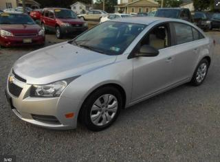 Used 2012 Chevrolet Cruze LS | SAME DAY APPROVAL AVAILABLE for sale in Scarborough, ON