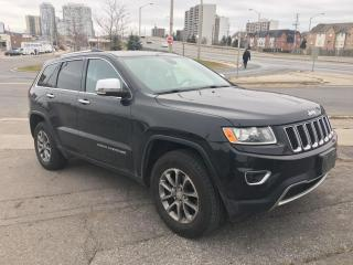 Used 2014 Jeep Grand Cherokee LIMITED | LEATHER | LARGE SCREEN | ROOF | BLUETOOT for sale in Scarborough, ON