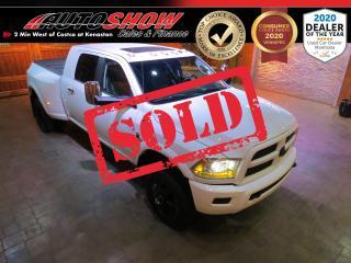 Used 2015 RAM 3500 Dually Laramie Sport - Huge Mega Cab Cummins!!! for sale in Winnipeg, MB
