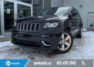 Used 2012 Jeep Grand Cherokee SRT8 GREAT CONDITION SUNROOF NAV for sale in Edmonton, AB