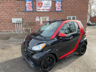 Used 2013 Smart fortwo BRABUS/ONE OWNER/LOW KMS/NO ACCIDENT/SAFETY INCL for sale in Cambridge, ON
