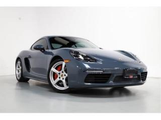 Used 2017 Porsche 718 Cayman S   PDK   BOSE   NAVI   WARRANTY   LOW KM for sale in Vaughan, ON