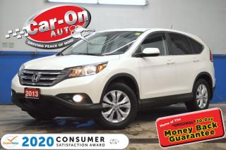 Used 2013 Honda CR-V EX-L AWD LEATHER SUNROOF REAR CAM HTD SEATS LOADED for sale in Ottawa, ON