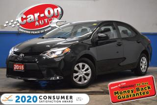 Used 2015 Toyota Corolla A/C BLUETOOTH CRUISE ONLY 52,000 KM for sale in Ottawa, ON