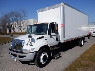 Used 2013 International 4300 Cube Van 24 foot Diesel With Power Tail Gate And  Air Brakes for sale in Burnaby, BC