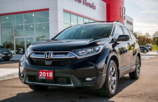 Used 2018 Honda CR-V EX-L AWD for sale in Woodstock, ON