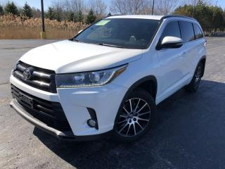 Used 2017 Toyota Highlander SE AWD for sale in Cayuga, ON
