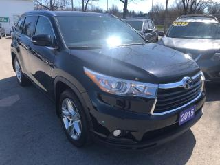 Used 2015 Toyota Highlander Limited, 4 Wheel Drive for sale in St Catharines, ON