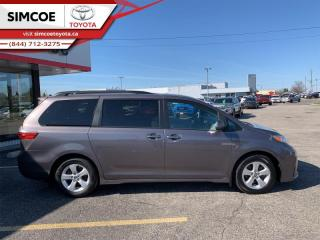 Used 2019 Toyota Sienna LE 8 Passenger  - Certified - $202 B/W for sale in Simcoe, ON