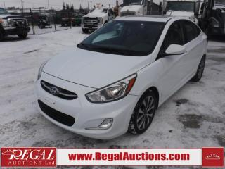 Used 2017 Hyundai Accent GL 4D Sedan AT 1.6L for sale in Calgary, AB