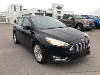 Used 2018 Ford Focus TITANIUM - HEATED LEATHER & WHEEL, REMOTE START for sale in Kingston, ON
