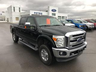 Used 2012 Ford F-250 LARIAT - SNOW PLOW PKG, HEAT/COOL LEATHER for sale in Kingston, ON