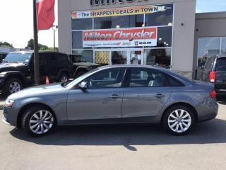 Used 2014 Audi A4 2.0 QUATTRO|LEATHER|SUNROOF for sale in Milton, ON