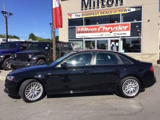 Used 2015 Audi A4 2.0T Komfort plus for sale in Milton, ON