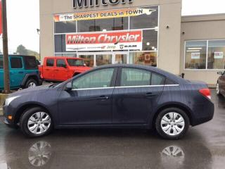 Used 2014 Chevrolet Cruze LT|REMOTE START|BACK UP CAMERA for sale in Milton, ON