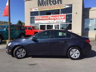 Used 2015 Chevrolet Cruze LT|REMOTE START|BACK UP CAMERA for sale in Milton, ON