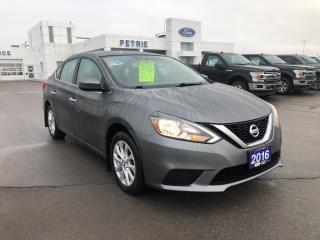 Used 2016 Nissan Sentra SV -  SEAT HEAT, BLUETOOTH for sale in Kingston, ON