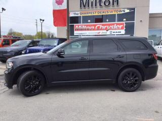Used 2018 Dodge Durango GT AWD|LEATHER|NAVIGATION|SUNROOF for sale in Milton, ON