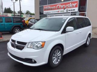Used 2019 Dodge Grand Caravan SXT PREMIUM PLUS/BACK UP CAM/LEATHERETTE for sale in Milton, ON