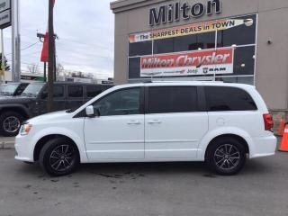 Used 2016 Dodge Grand Caravan SE|Leather|Full Stow N Go|Super Console for sale in Milton, ON