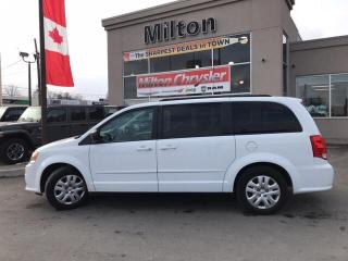 Used 2017 Dodge Grand Caravan CANADA VALUE PACKAGE/SXT|STOW N GO for sale in Milton, ON