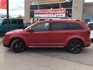 Used 2018 Dodge Journey CROSSROAD|7 PASSENGER|DVD|LEATHER|NAVIGATION for sale in Milton, ON