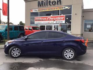 Used 2014 Hyundai Elantra GL for sale in Milton, ON