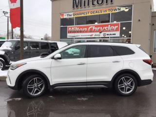 Used 2017 Hyundai Santa Fe XL Limited 7 Passenger Saddle Seats for sale in Milton, ON