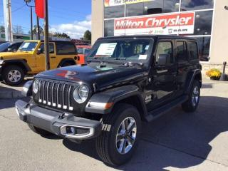 Used 2018 Jeep Wrangler UNLIMITED SAHARA / DUAL TOP / LED / TRAILER TOW / for sale in Milton, ON