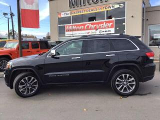 Used 2018 Jeep Grand Cherokee LIMITED 4X4| LEATHER|NAVIGATION|SAFETY TECH GROUP for sale in Milton, ON