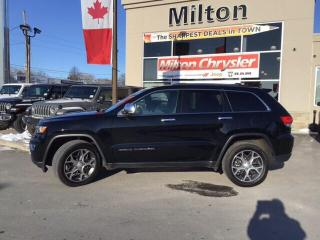 Used 2019 Jeep Grand Cherokee LIMITED 4X4|LEATHER|NAVIGATION|SUNROOF for sale in Milton, ON