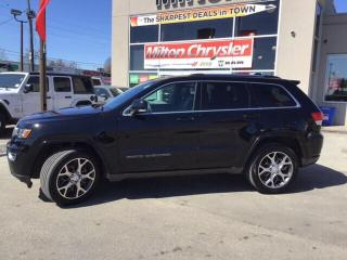 Used 2018 Jeep Grand Cherokee LIMITED 4X4|STERLING EDITION|NAVIGATION|LEATHER for sale in Milton, ON
