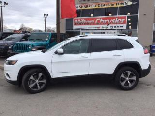 Used 2019 Jeep Cherokee LIMITED 4X4|LEATHER|TRAILER TOW|8.4 INCH RADIO for sale in Milton, ON