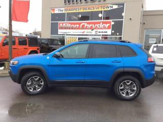 Used 2019 Jeep Cherokee TRAILHAWK 4X4|BACK UP CAM|8.4 INCH RADIO for sale in Milton, ON