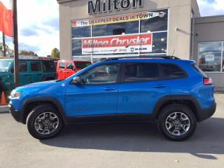Used 2019 Jeep Cherokee TRAILHAWK 4X4|SAFETY TECH|8.4 INCH RADIO for sale in Milton, ON