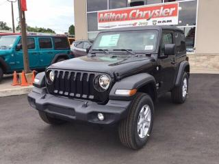 Used 2019 Jeep Wrangler SPORT S 4X4 / AUTO / COLD WEATHER GRP. for sale in Milton, ON