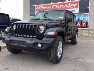 Used 2019 Jeep Wrangler Unlimited SPORT S 4X4 / COLD WEATHER GRP. for sale in Milton, ON