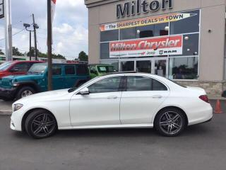 Used 2019 Mercedes-Benz E450 4MATIC 4MATIC LEATHER PANO SUNROOF NAV AMG APPEARANCE for sale in Milton, ON