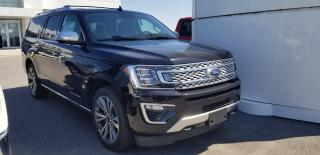 New 2020 Ford Expedition Platinum Max for sale in Kingston, ON