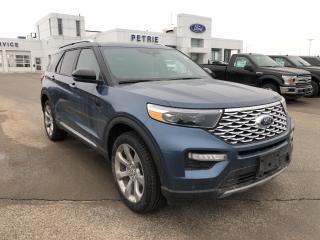 New 2020 Ford Explorer Platinum for sale in Kingston, ON