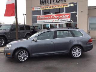 Used 2013 Volkswagen Golf 2.0 TDI Highline (A6)|Panoramic Sunroof|Leather|Al for sale in Milton, ON