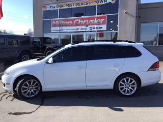 Used 2014 Volkswagen Golf Sportwagen 2.0 TDI Highline|Panoramic Sunroof|Navigation|Leat for sale in Milton, ON