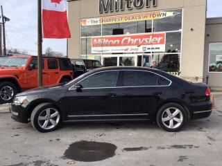 Used 2014 Volkswagen Passat 2.0 TDI COMFORTLINE|LEATHER|SUNROOF for sale in Milton, ON