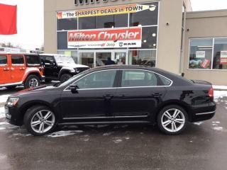Used 2013 Volkswagen Passat 2.0 TDI HIGHLINE|LEATHER|NAVIGATION|SUNROOF for sale in Milton, ON