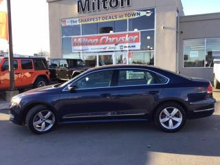 Used 2014 Volkswagen Passat 2.0 TDI COMFORTLINE|LEATHER|SUNROOF|NAV for sale in Milton, ON