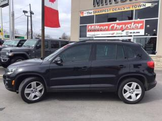 Used 2016 Volkswagen Tiguan Highline|Navigation|Panoramic Sunroof|Heated Seats for sale in Milton, ON