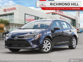 New 2020 Toyota Corolla LE  - Heated Seats - $70.23 /Wk for sale in Richmond Hill, ON