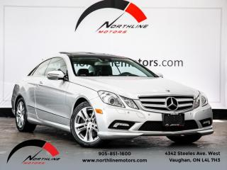 Used 2010 Mercedes-Benz E-Class E350 Coupe|Navigation|Pano Roof|ParkAssist|Heated Leather for sale in Vaughan, ON