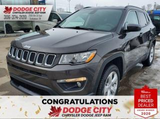 Used 2018 Jeep Compass North | 4X4, B/U Cam, Btooth, Htd Seats for sale in Saskatoon, SK